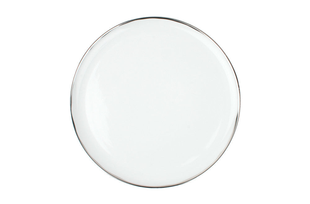 Dauville Platinum Glazed Dinner Plate design by Canvas