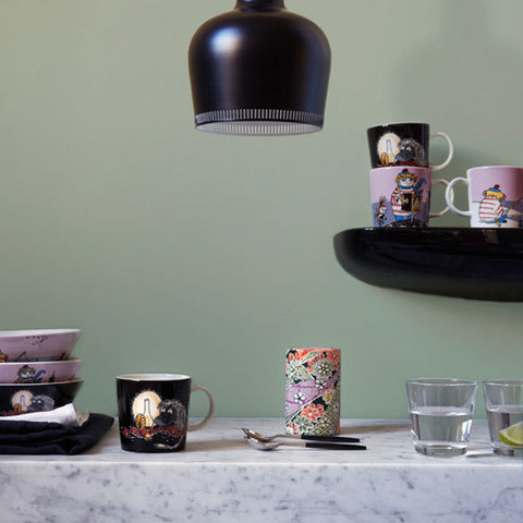 Tooticky Violet Mug Design by Tove Jansson X Tove Slotte for Iittala