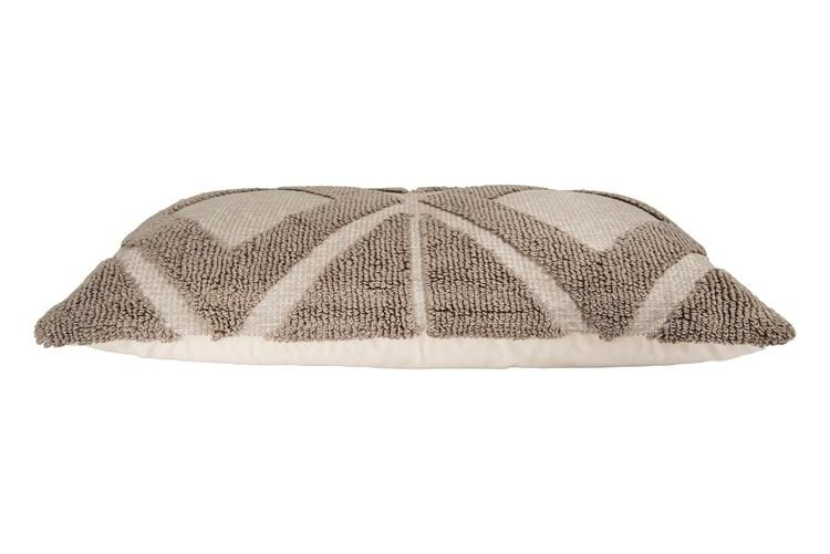 Taupe Lumbar Pillow