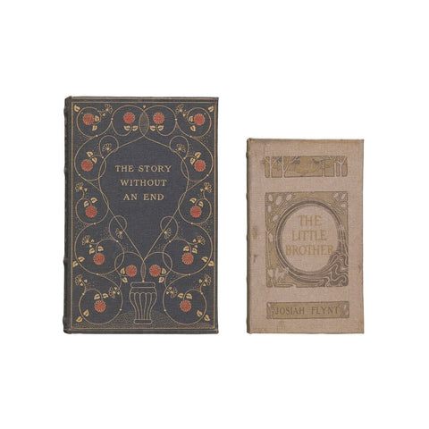 """The Story Without An End"" Book Boxes, Set of 2"