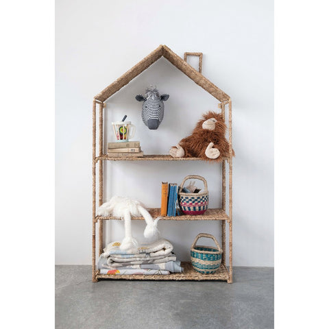 Woven Foldable House Shelf