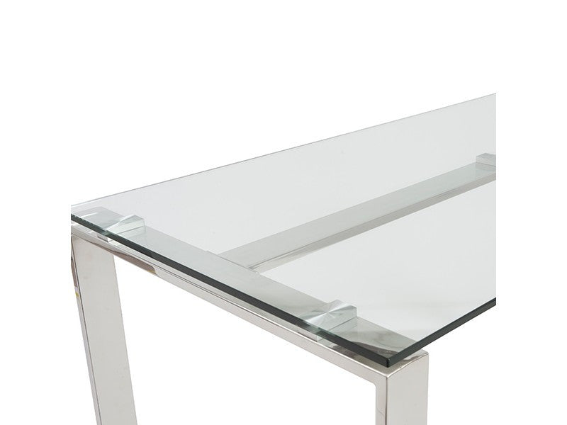 Diego Desk in Clear design by Euro Style