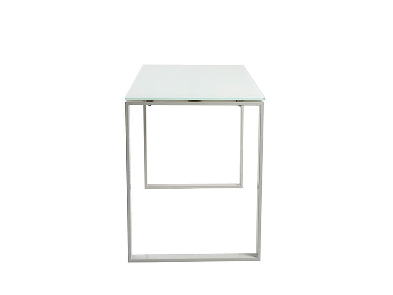 Diego Desk in Pure White design by Euro Style