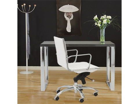 Dillon Desk in Grey Lacquer design by Euro Style