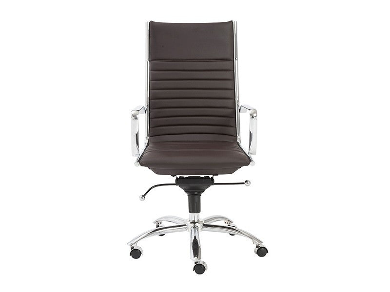 Dirk High Back Office Chair in Brown design by Euro Style ...