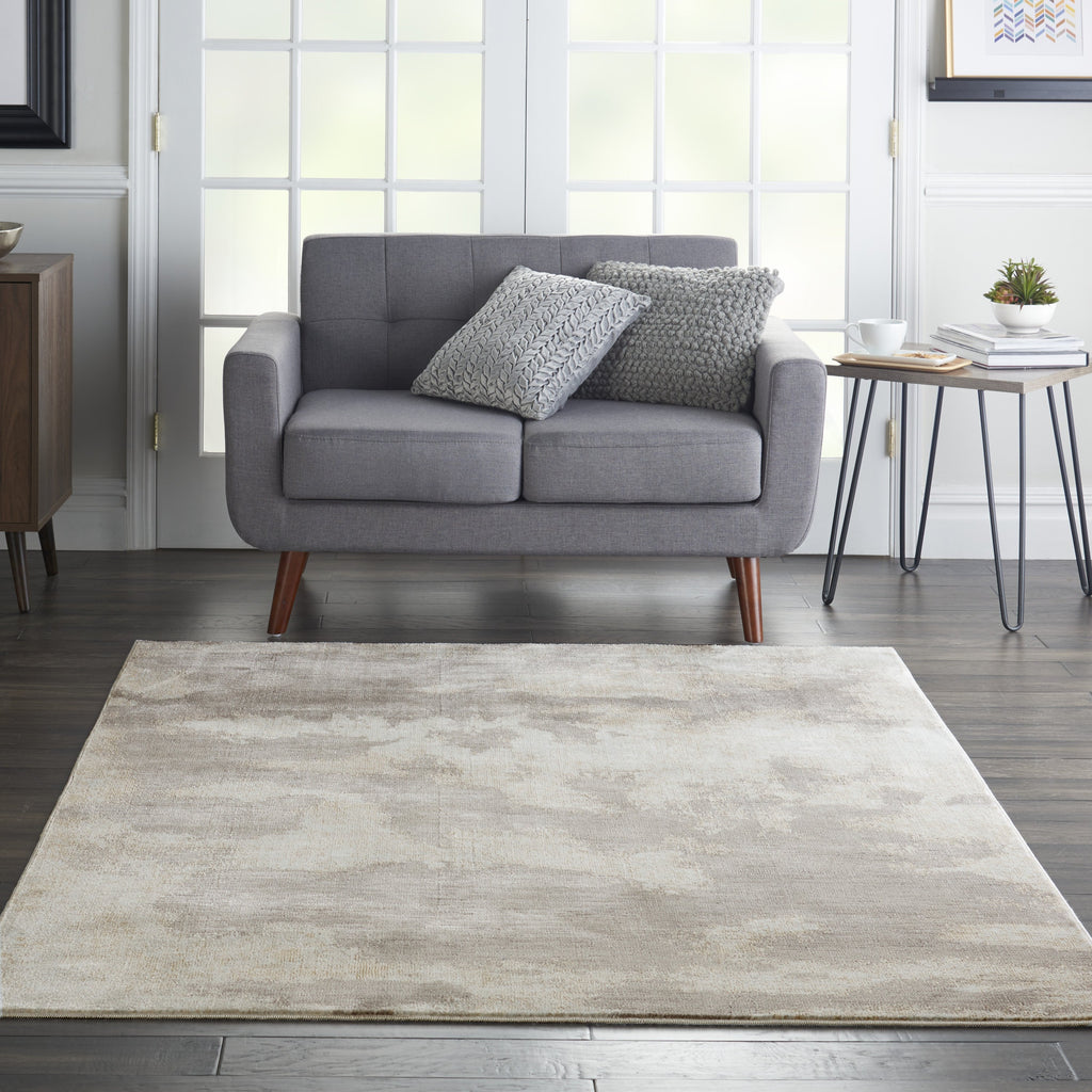 Etchings Rug in Grey by Nourison