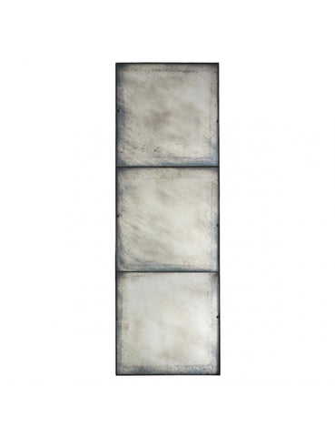Three Panel Large Antiqued Mirror design by Aidan Gray