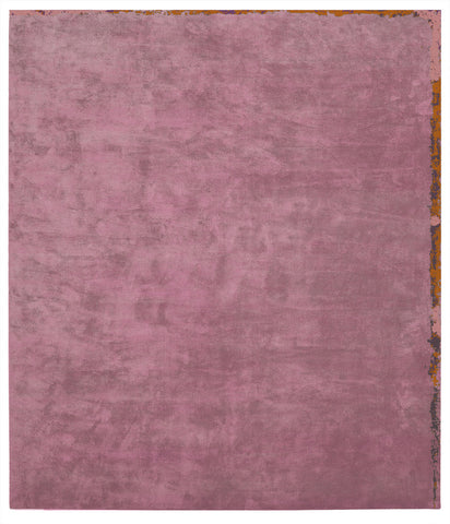Dijon Nester Hand Knotted Rug in Pink design by Second Studio
