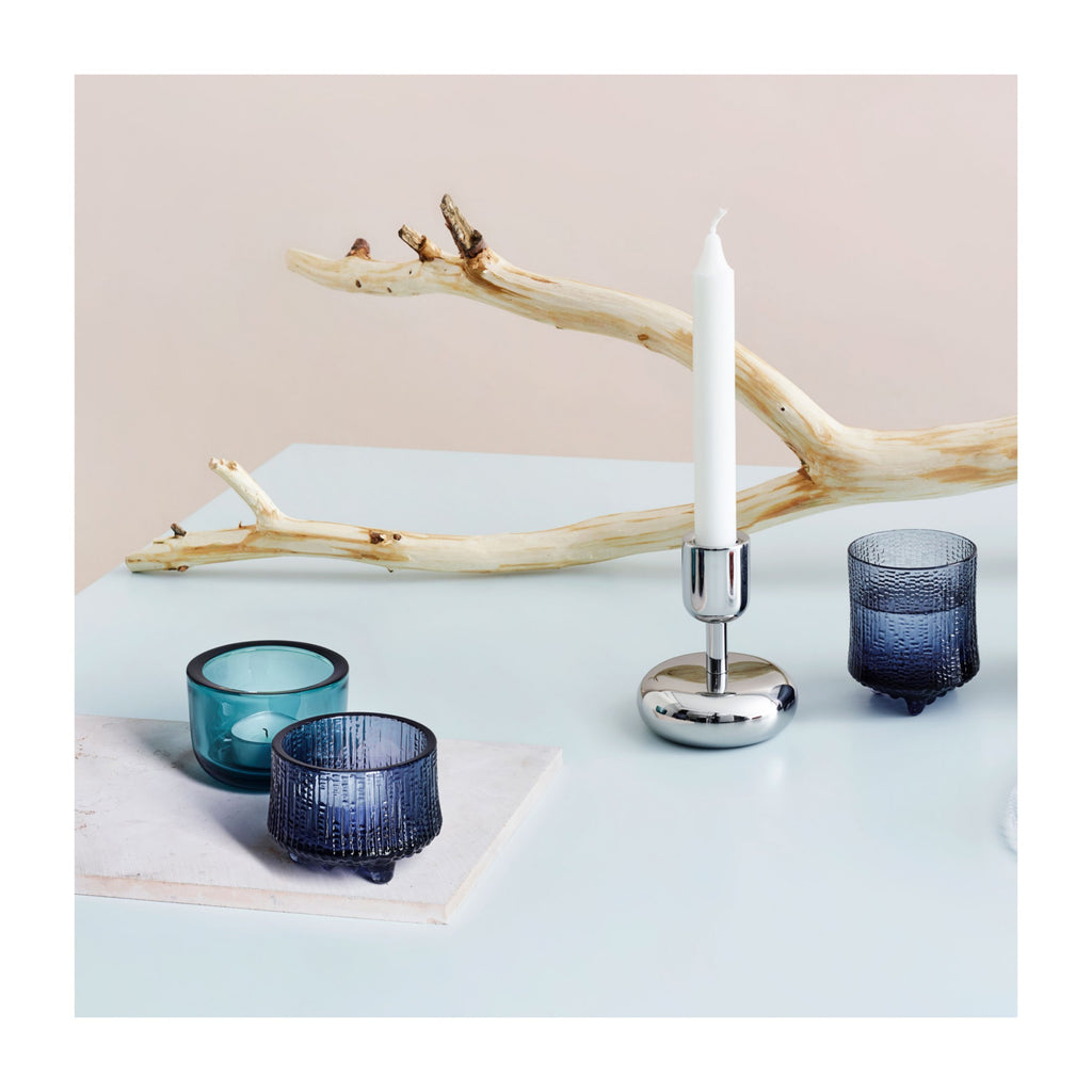 Ultima Thule Tealight Candleholder in Various Colors design by Tapio Wirkkala for Iittala