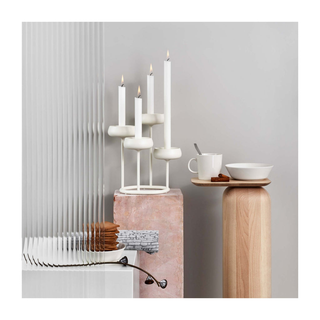Nappula Candelabra in Various Colors design by Matti Klenell for Iittala