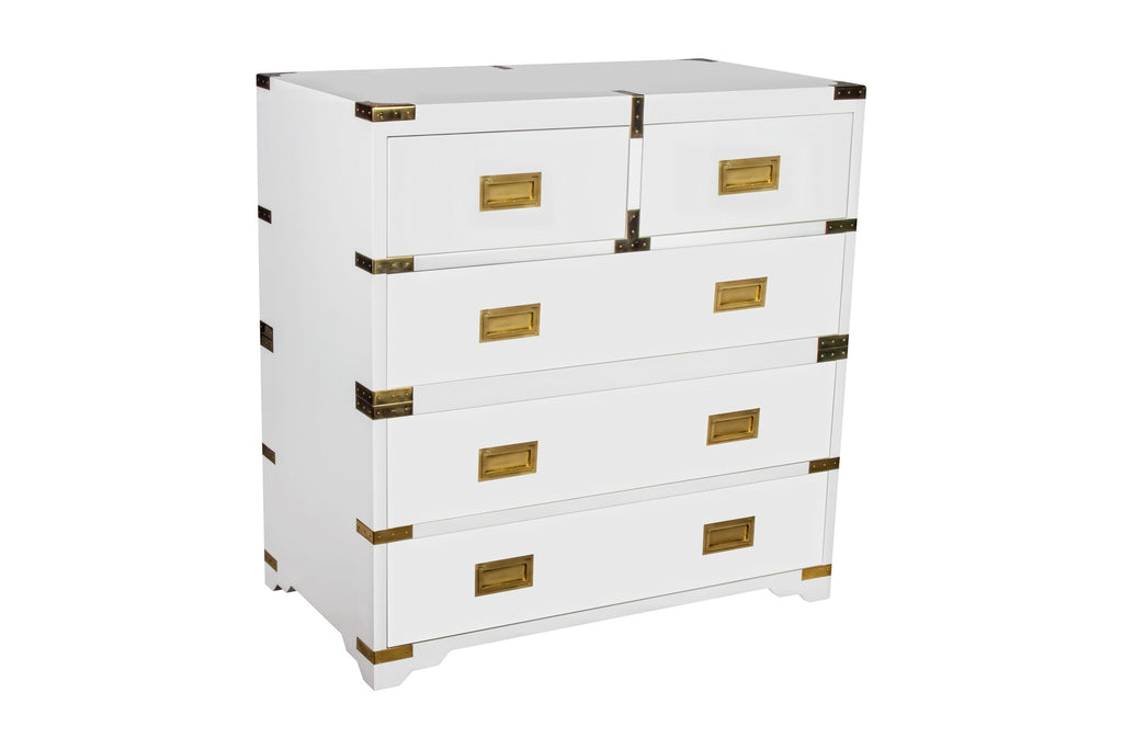 Chiba Five-Drawer Chest in Various Colors by Selamat