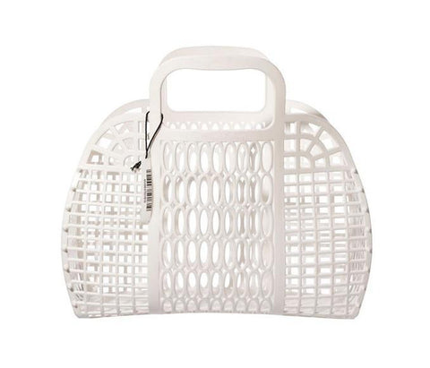 Plastic Market Bag - Large White