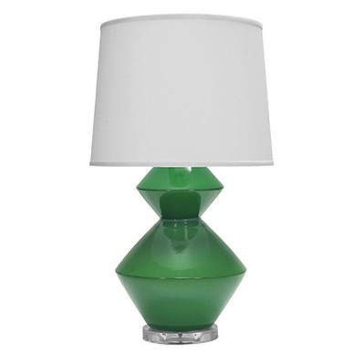 Two Tier Ceramic Table Lamp in Various Colors