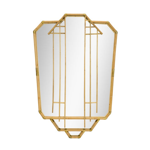Edith Mirror in Natural design by Selamat