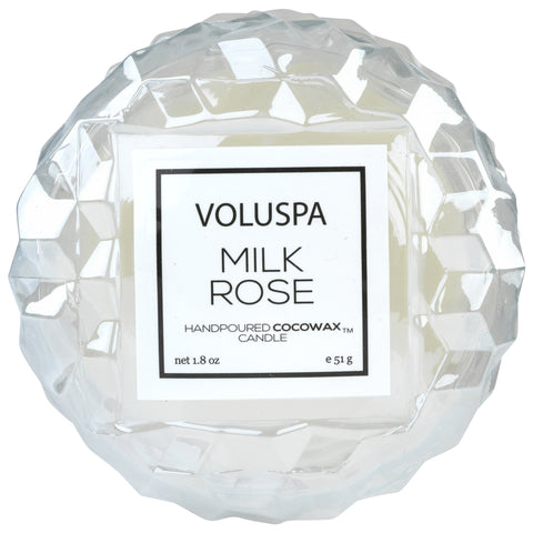 Macaron Candle in Milk Rose design by Voluspa