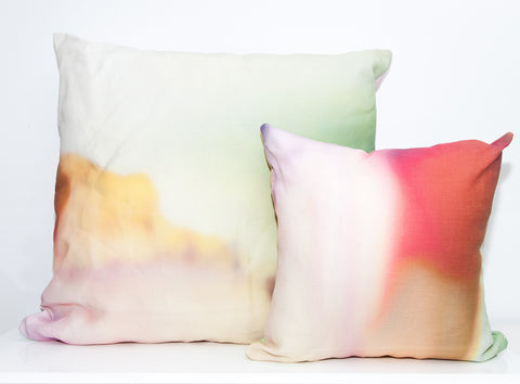 Desert Sun Outdoor Throw Pillow by elise flashman