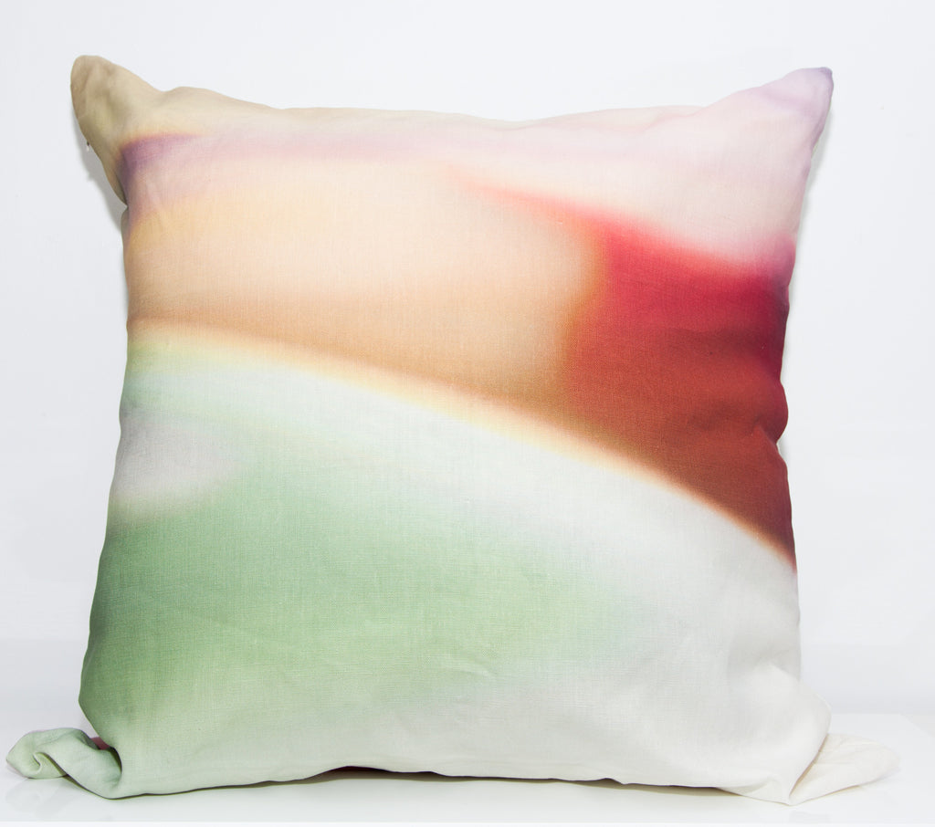 Desert Sun Throw Pillow