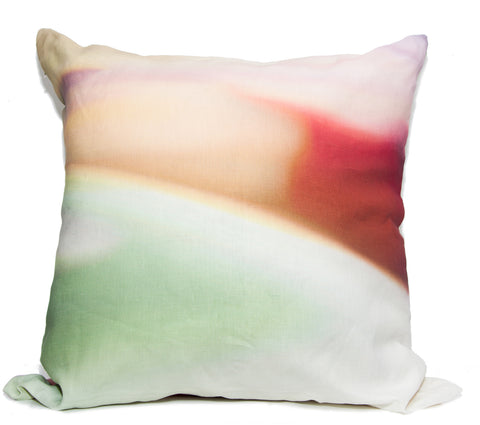 Color Fields Throw Pillow by elise flashman