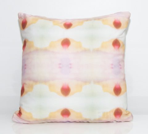 Mirage Outdoor Throw Pillow by elise flashman