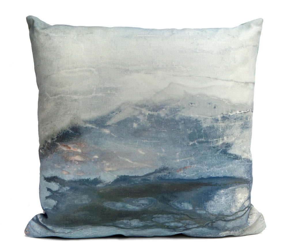 Lake Outdoor Throw Pillow by elise flashman