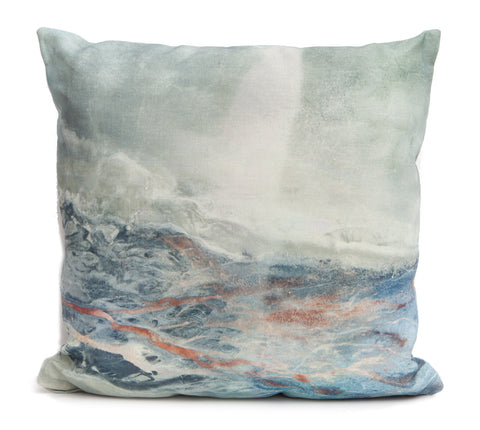 Lake Throw Pillow by elise flashman