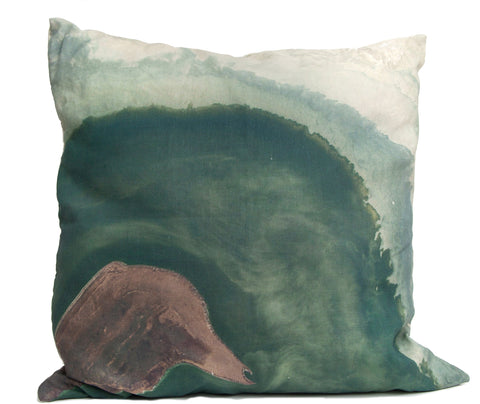 Atoll Throw Pillow by elise flashman