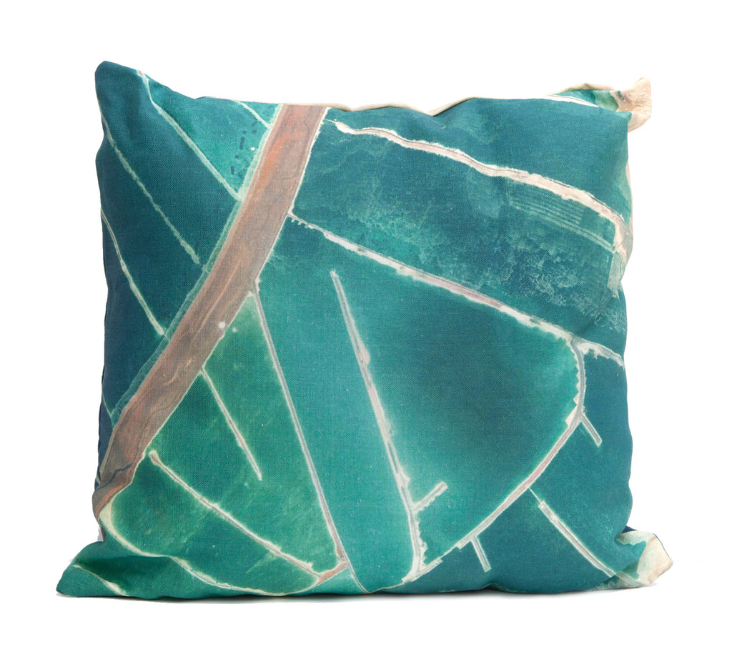 Waterland Throw Pillow