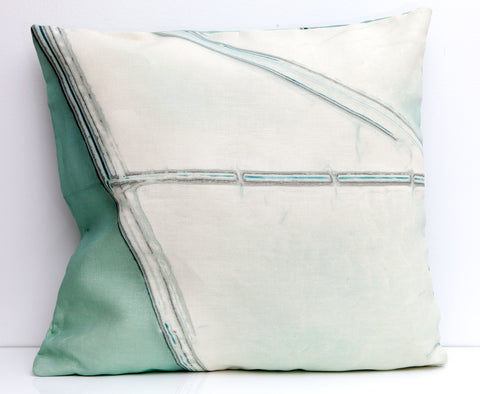 Pools Throw Pillow