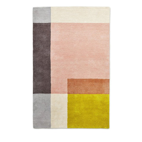 Element Rug in Rose design by Gus Modern
