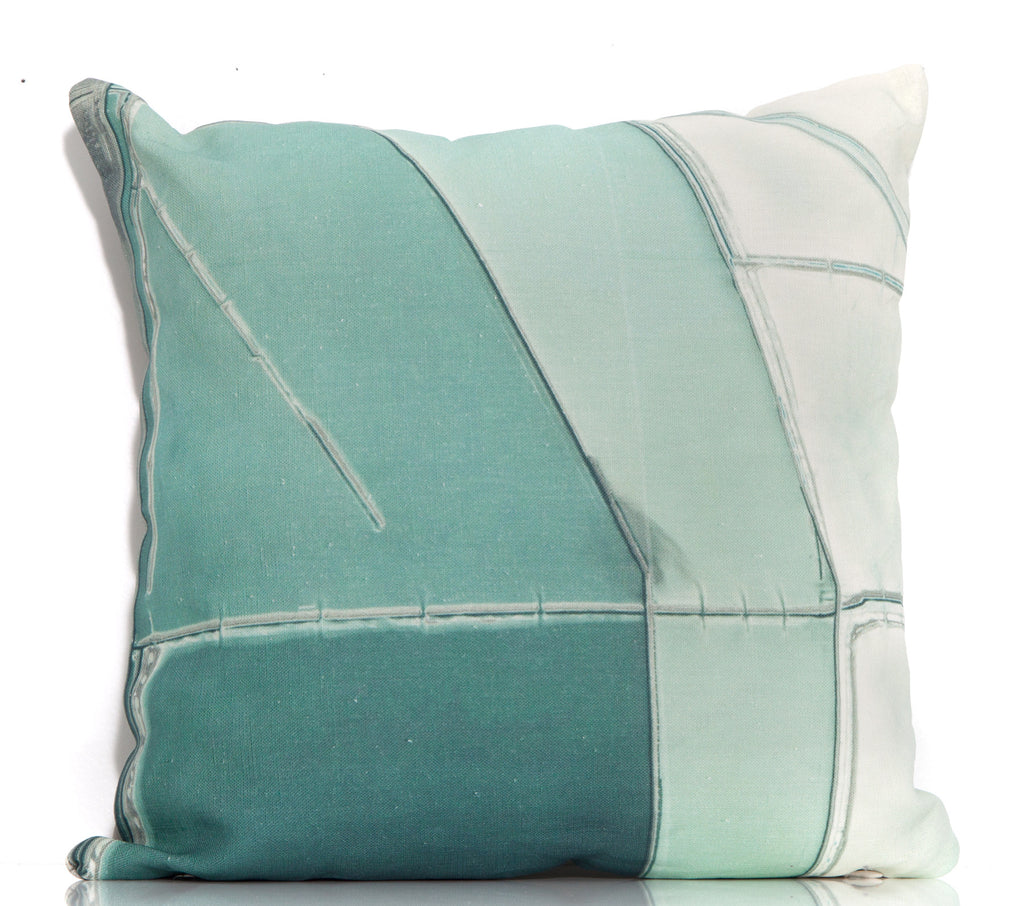 Desert Pools Throw Pillow by elise flashman