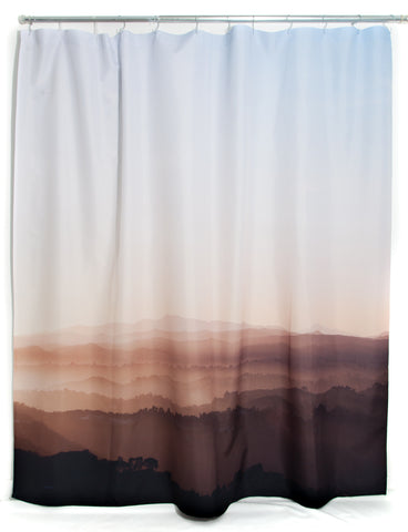 Valley Shower Curtain Design By Elise Flashman