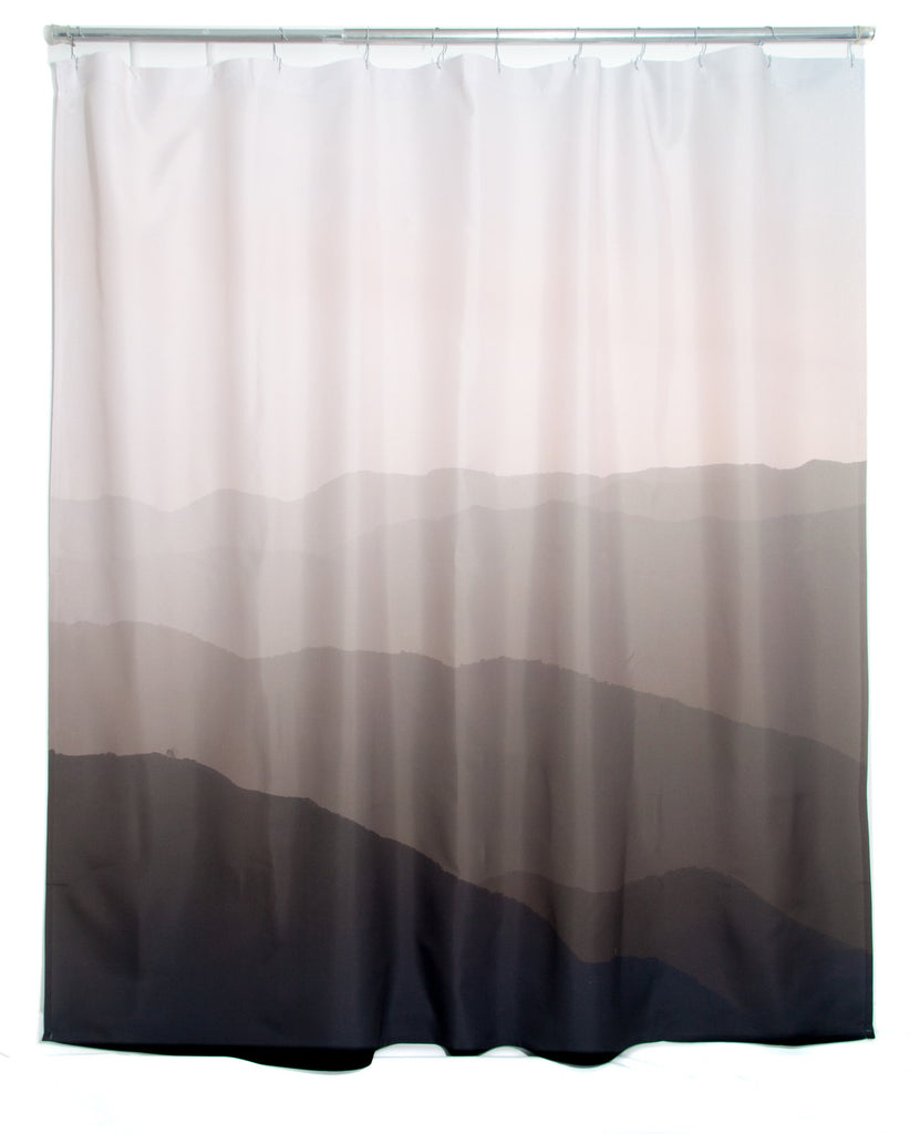 Hills Shower Curtain design by elise flashman