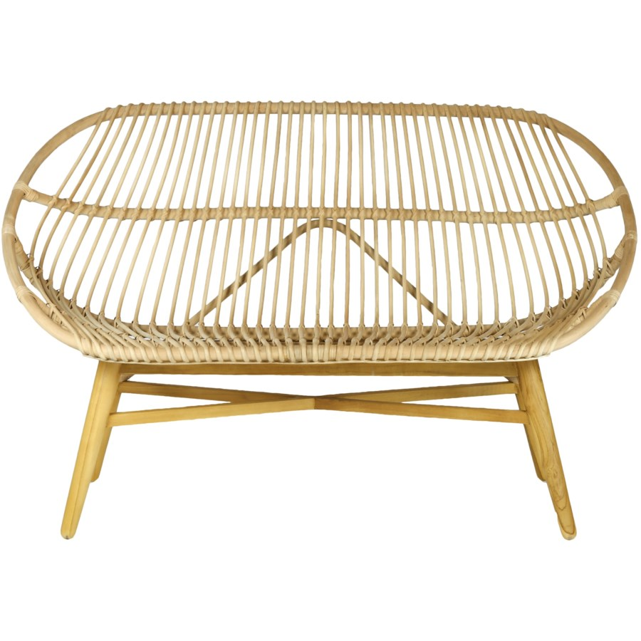 Emile Bench in Natural design by Selamat