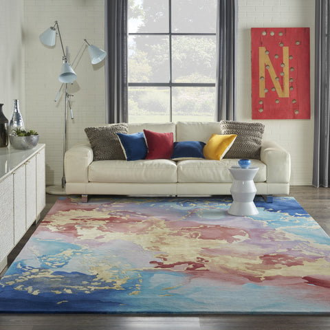 Prismatic Rug in Multicolor by Nourison