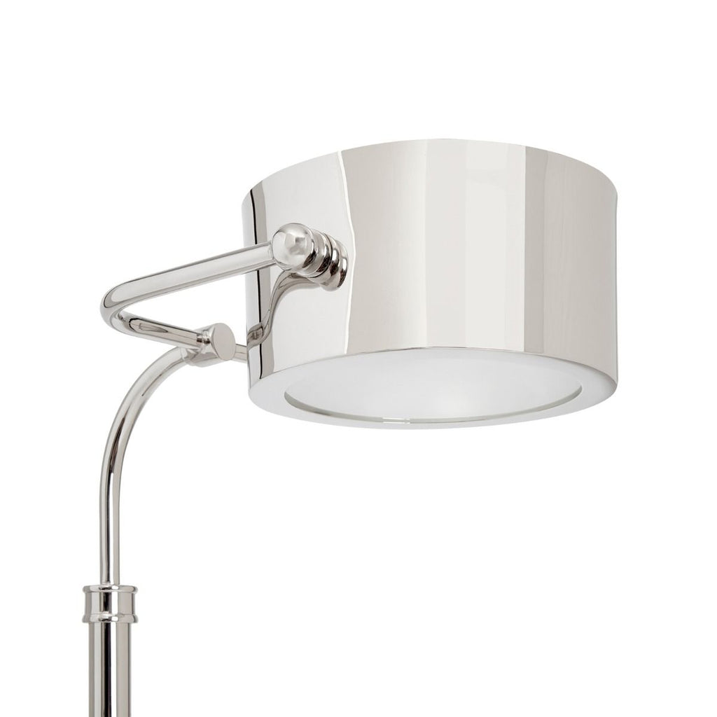 Enzo Floor Lamp in Nickel design by Bungalow 5