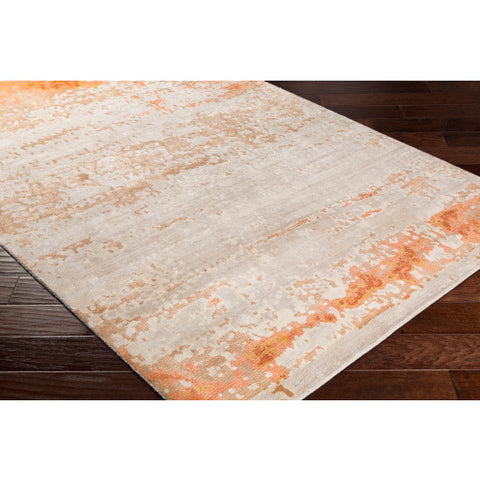 Ephemeral Rug in Orange
