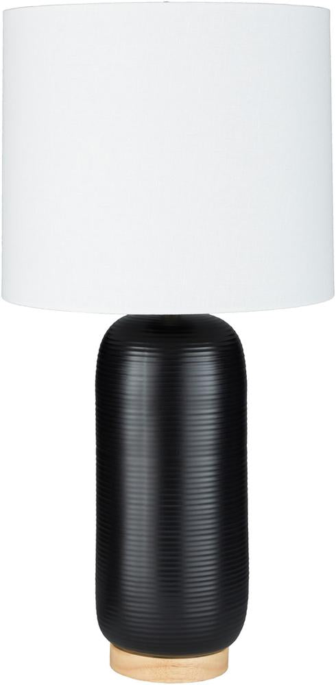 Everly Table Lamp in Black & White design by Surya