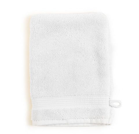 Set of 2 Essence Wash Mitts in Assorted Colors design by Turkish Towel Company