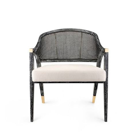Edward Lounge Chair in Black by Bungalow 5