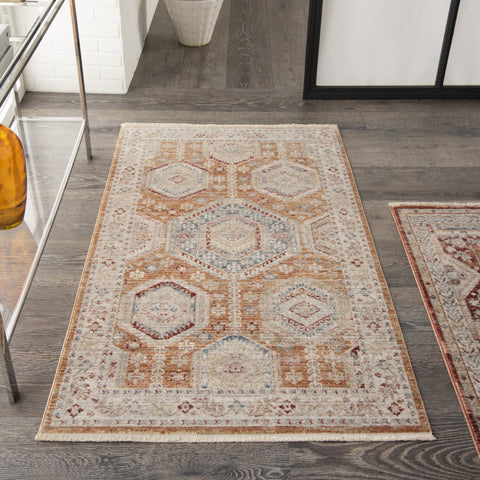 Homestead Rug in Brick by Nourison