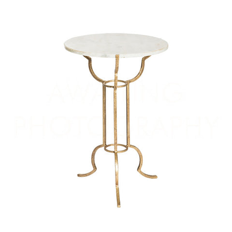 Portrack House Garden Table No 1 Gold Design By Aidan Gray