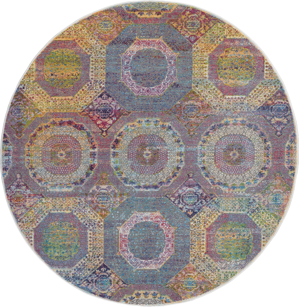 Ankara Global Rug in Multicolor by Nourison