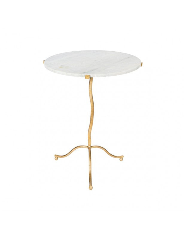 Set of Two Kalmar Occasional Table in Gold design by Aidan Gray