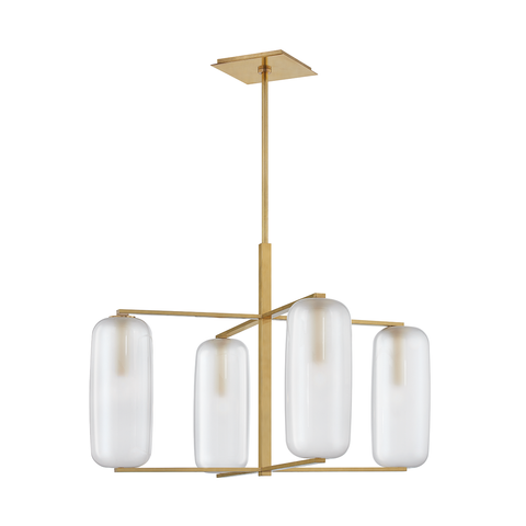 Pebble 4 Light Chandelier by Hudson Valley