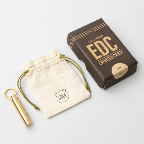 Brass EDC Stash design by Izola