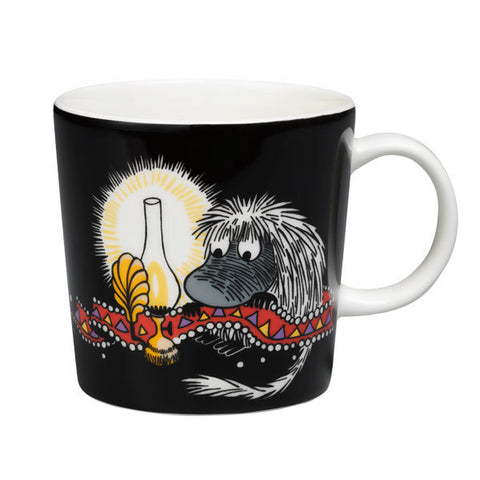 Ancestor Black Mug Design by Tove Jansson X Tove Slotte for Iittala