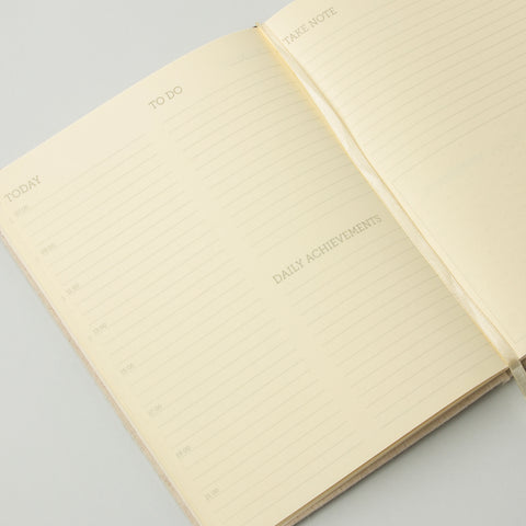 Take Note' Linen Planner design by Izola