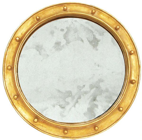 Federal Gold Leaf Federal Style Frame w/ Antique Mirror design by BD Studio