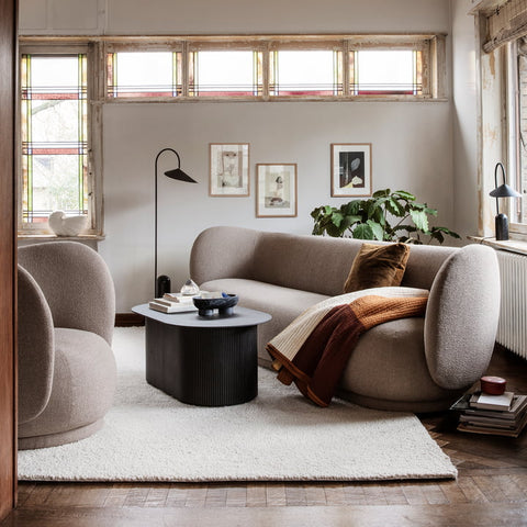 Rico 3 Seater Sofa in Various Colors & Materials by Ferm Living