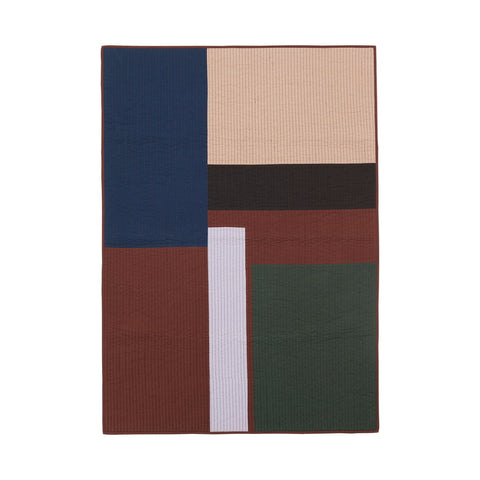 Shay Patchwork Quilt Blanket in Various Designs by Ferm Living